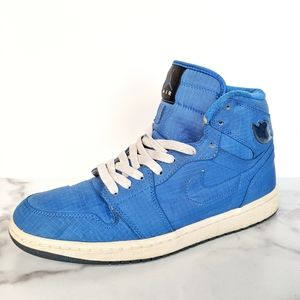 Nike Air Jordan 1 Retro High Blue Sapphire Size 10